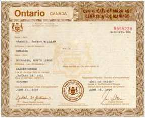 Contract marriage in canada