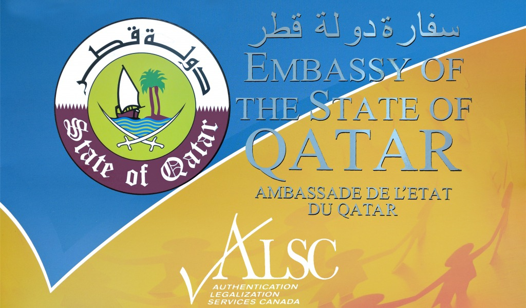 Qatar Embassy Apostille Authentication Legalization
