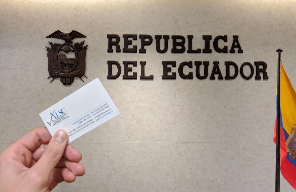 Ecuador document Apostille Authentication Legalization