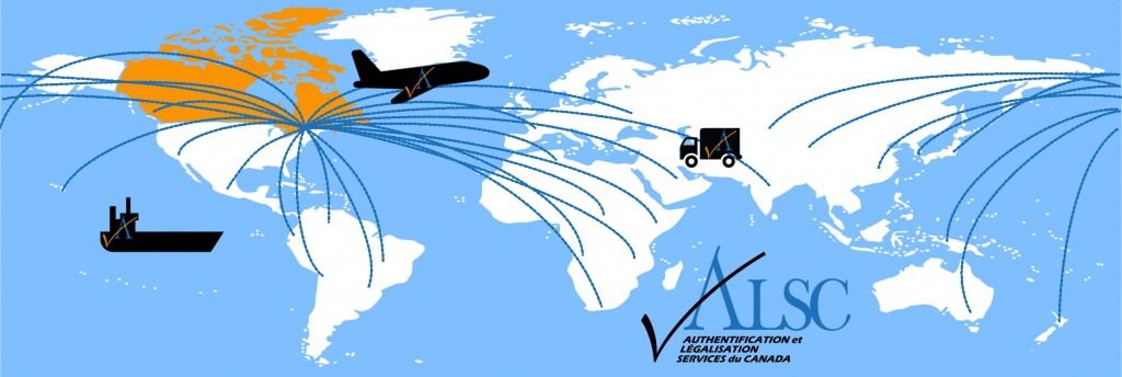 Expedition livraison Apostille Aithentification Legalisation