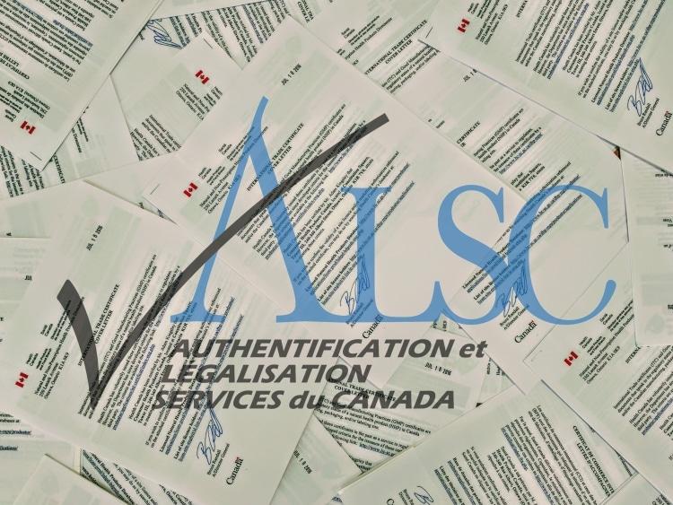 Pile O docs with ALSC Logo FR