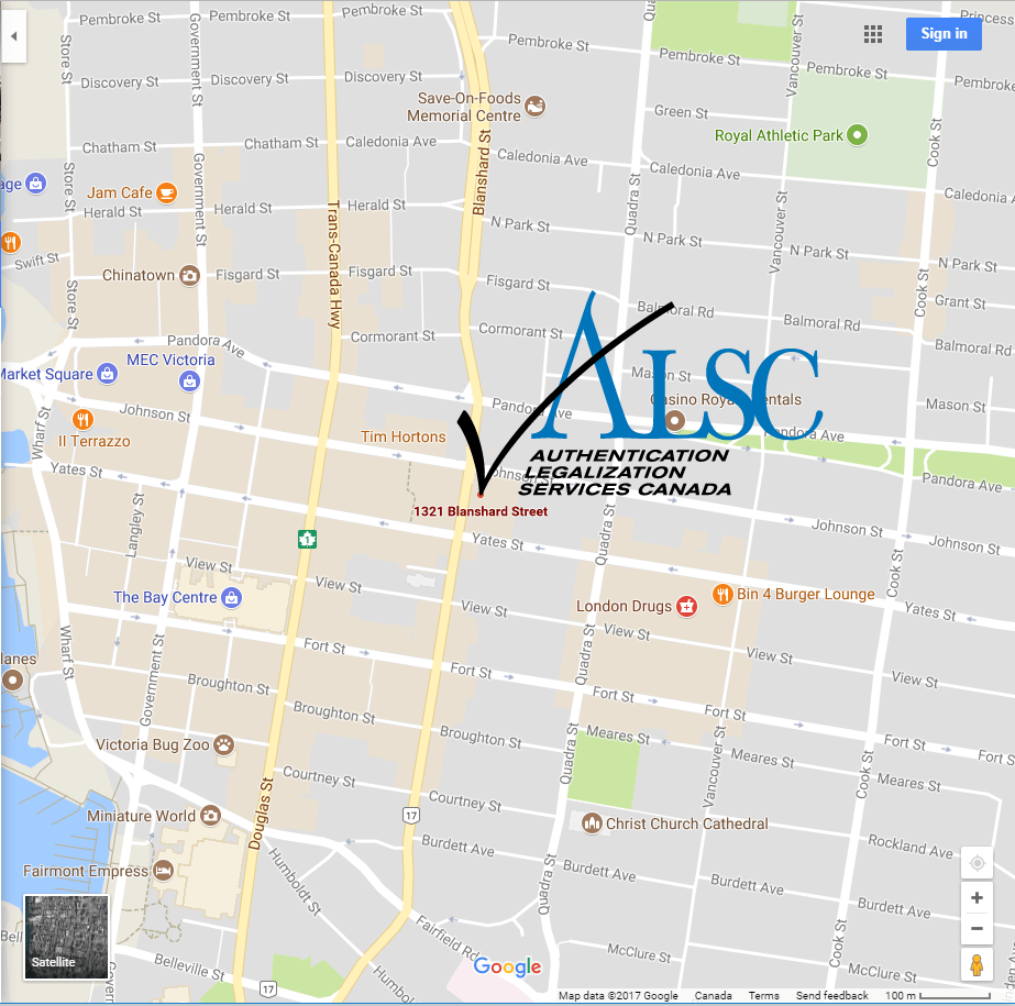 map Victoria apostille authentication legalization office